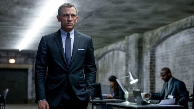 Filmszene aus dem James-Bond-Streifen «Skyfall».