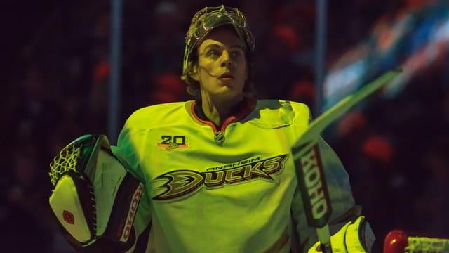 Jonas Hiller kämpft in dieser Saison um einen neuen NHL-Vertrag.