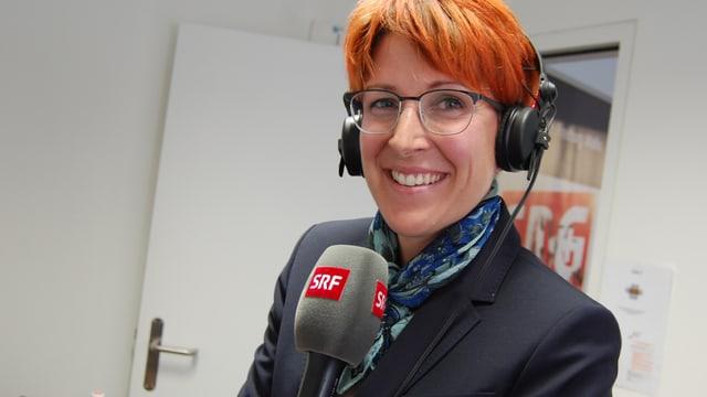 Priska Dellberg im Porträt.