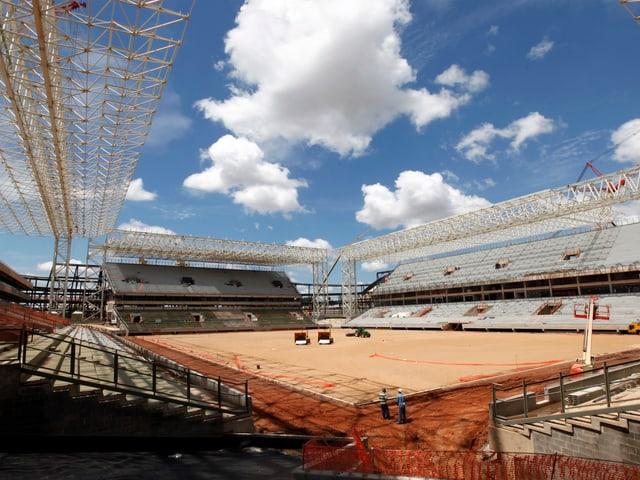 Das WM-Stadion der Stadt Cuiaba.