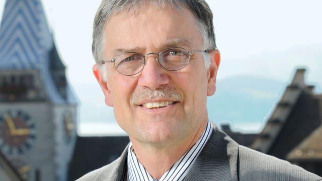 Der Zuger Stadtrat Andreas Bossard