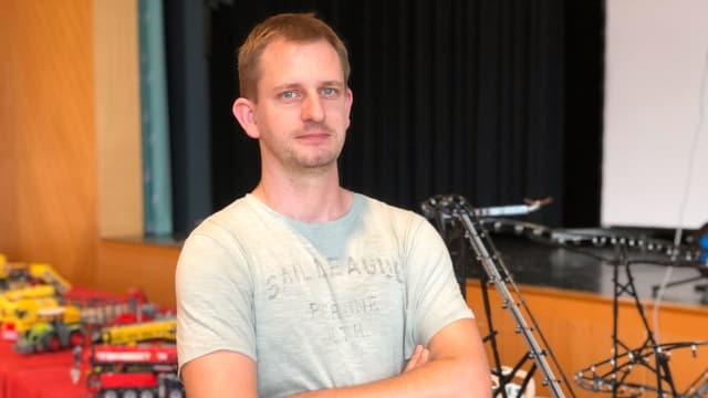 SwissLUG-Präsident Andreas Kunz