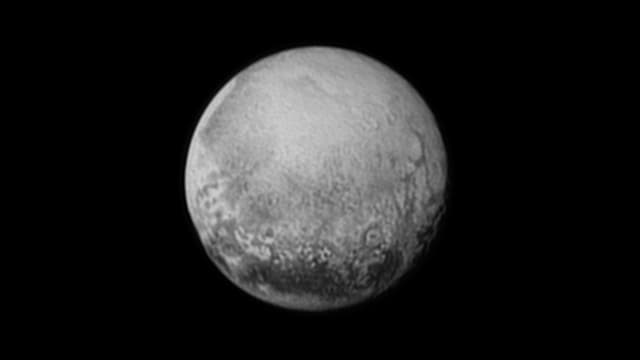 Aufnahme von Pluto