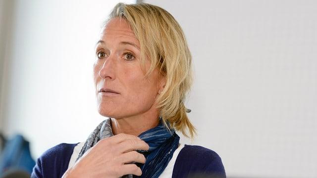 Susanne Hochuli, grüne Regierungsrätin im Kanton Aargau.