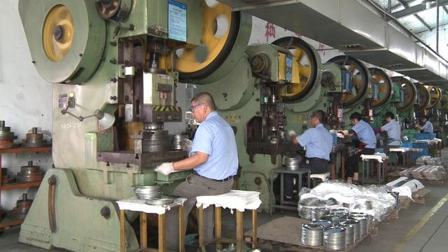Pfannen-Produktion in China