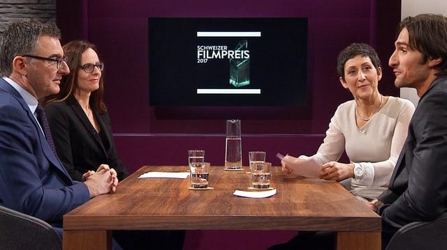 Video ««Dene wos guet geit» – Die Kritikerrunde zum Schweizer Filmpreis» abspielen