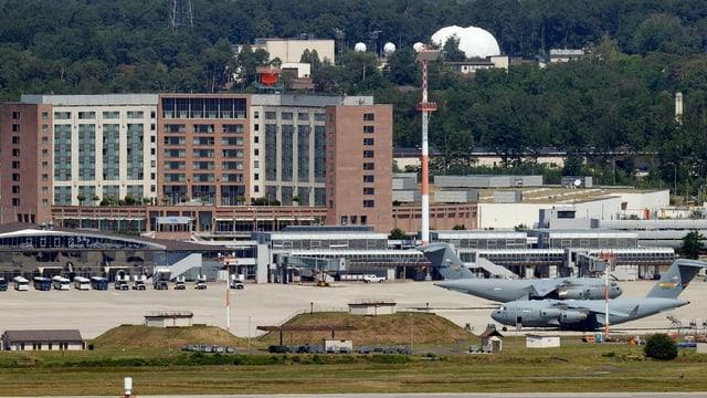 Der Luftwaffenstützpunkt Ramstein