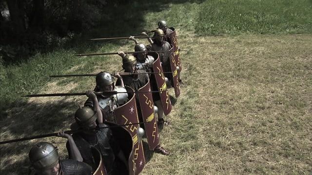 Video «Das Römer-Experiment - Wie sichern die Römer ihr Imperium (1/8) Latein» abspielen