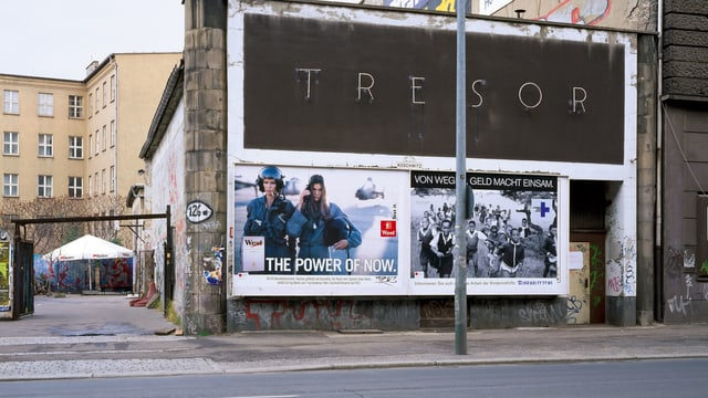 Der Club Tresor in Berlin