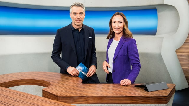 Sandro Brotz und Nicole Frank