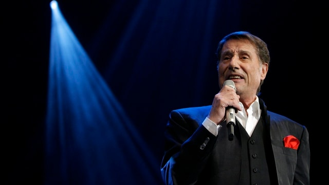 Udo Jürgens singt im Casino Kursaal in Bern.