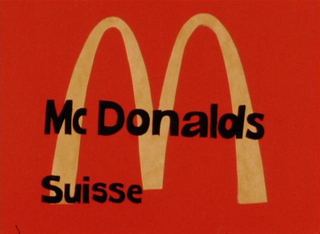 Logo McDonald's Suisse.