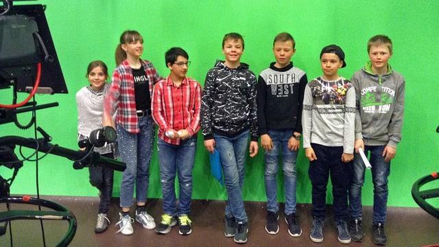 Scolars da la scola La Punt Chames-ch.