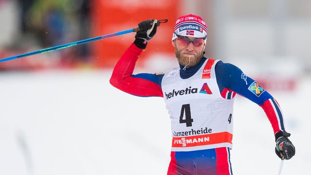 il passlunghist norvegiais Martin Johnsrud Sundby