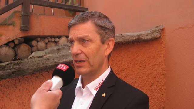 Der Direktor von Valais-Wallis-Promotion Damian Constantin