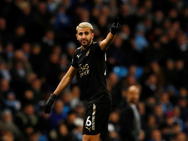 Riyad Mahrez wechsel zu Manchester City.