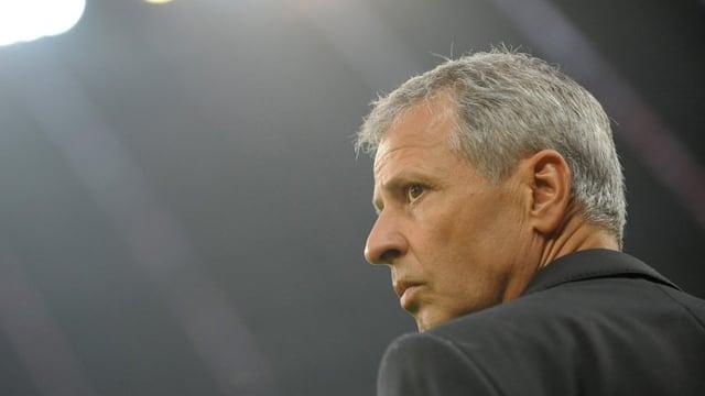 Lucien Favre, anteriur trenader da Borussia Mönchengladbach.