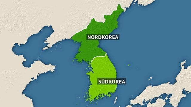Der Norden der koreanischen Halbinsel ist nicht besonders fruchtbar.