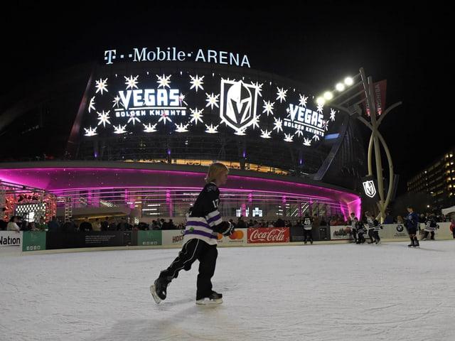 T-Mobile-Arena in Las Vegas.