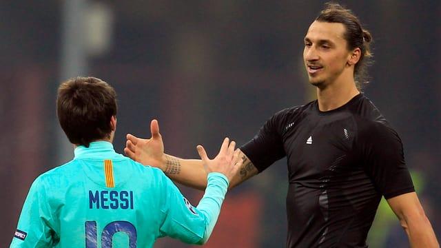 Messi und Ibrahimovic treffen am Dienstagabend im Parc des Princes aufeinander.