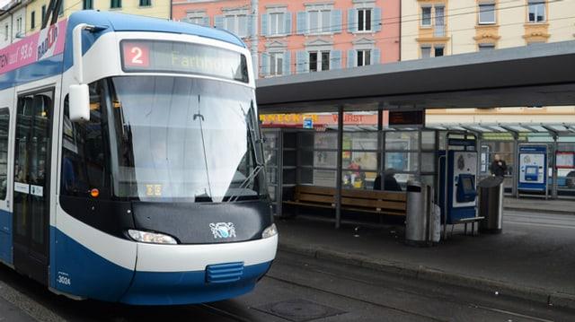Tram in der Zürcher Innenstadt (Symbolbild)