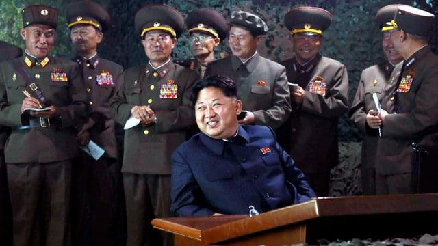 Der nordkoreanische Diktator Kim Jong Un.