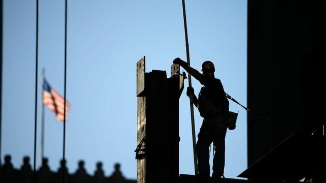 Bauarbeiter in den USA