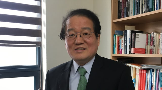Professor Nam Song-sook von der Korea University Seoul