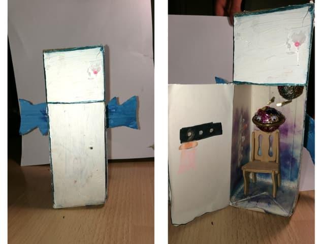Kühlschrank mit Flügeln