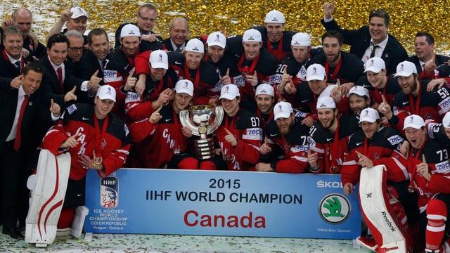 Kanada beim Siegerfoto.
