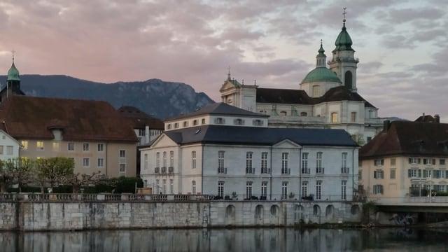 Solothurn an der Aare.