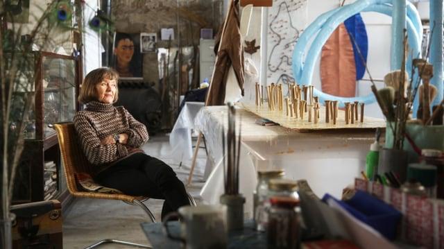 Video «Die Künstlerin Lilly Keller – Cultiver son jardin» abspielen