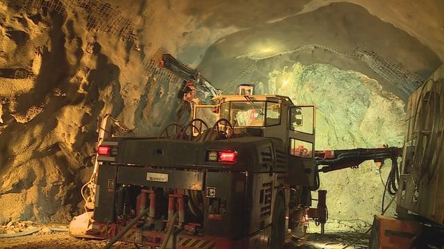 maschina per far in tunnel en il tunnel