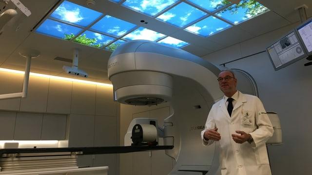 Bestrahlungseinheit im Kantonsspital Frauenfeld