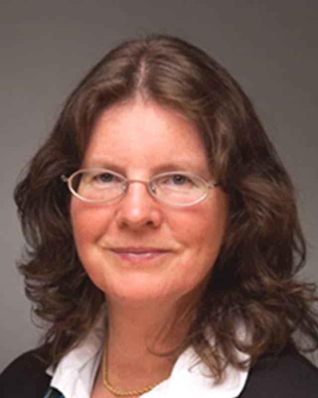 Eine Portraitaufnahme der Informatiklehrerin Sabine Jacob