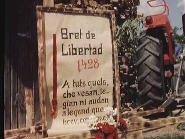 Illustraziun da la brev da libertad obtegnida l'onn 1428