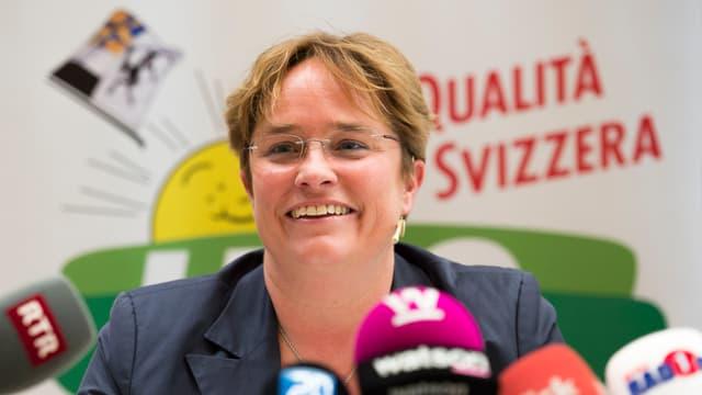 Magdalena Martullo-Blocher annunzia l'avrigl 2015 sia candidatura.