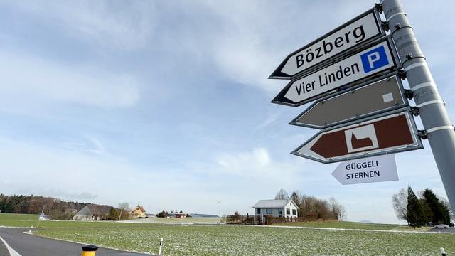 Cuntrada enturn Bözberg