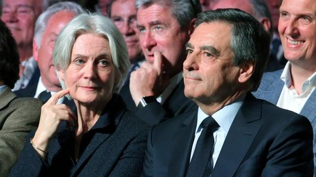 François Fillon und seine Frau Penelope Fillon