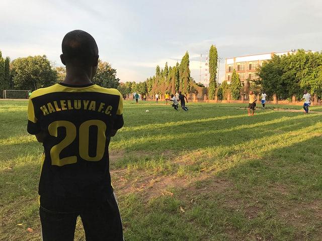 Fussballspieler.