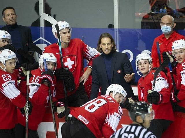 Die Schweizer Nationalmannschaft.