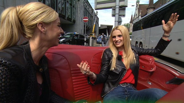 Video ««G&G Weekend»: Nicole Berchtold im Cabrio mit Michelle Hunziker» abspielen