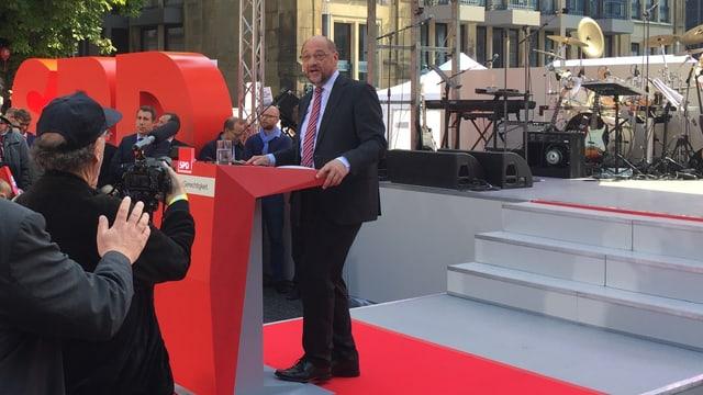 Martin Schulz ha anc ina giada dà tut a la fin dal cumbat electoral.