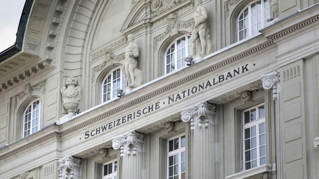 Bajetg da la Banca naziunala svizra.
