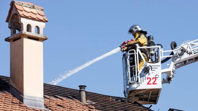 Feuerwehrmann.