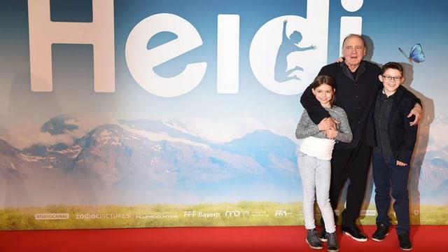 acturs principals dal film Heidi avant ina paraid