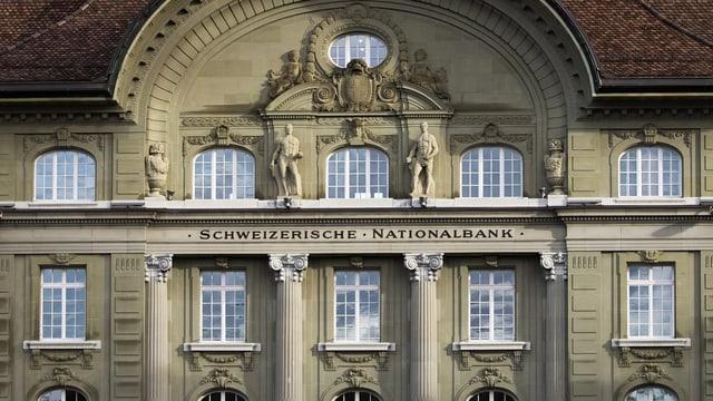 Bajetg da la Banca naziunala a Berna.
