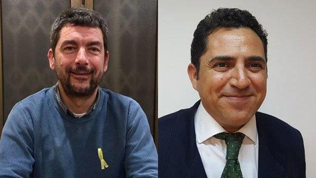 Joan Canadell (L) und Carlos Rivadulla (R) bewerten die Unabhängigkeit höchst unterschiedlich.