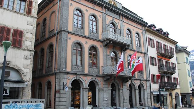 Das Grossratsgebäude von aussen.