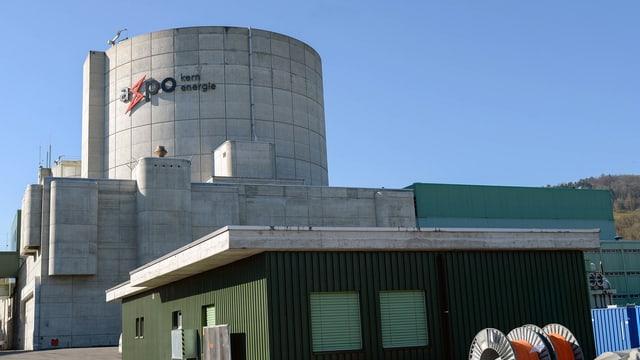 Das Atomkraftwerk Beznau in Döttingen/AG.